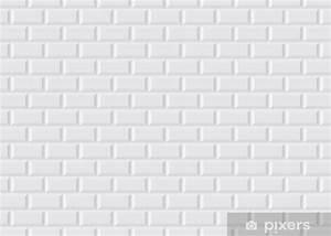 Carreau Metro Blanc : sticker carrelage m tro blanc pixers nous vivons pour ~ Melissatoandfro.com Idées de Décoration