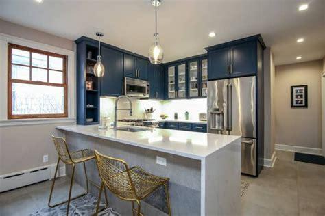 Blue Kitchens Best Kitchen Designs 2019 POPSUGAR Home