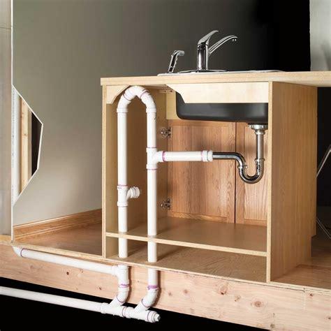 kitchen sink plumbing in measurements standard kitchen sink plumbing in dimensions 3