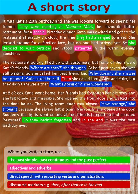 short story learnenglish teens british council