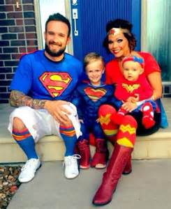 Superhero Family Costumes Halloween