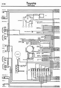 Toyota Celica A20 1972 Wiring Diagrams