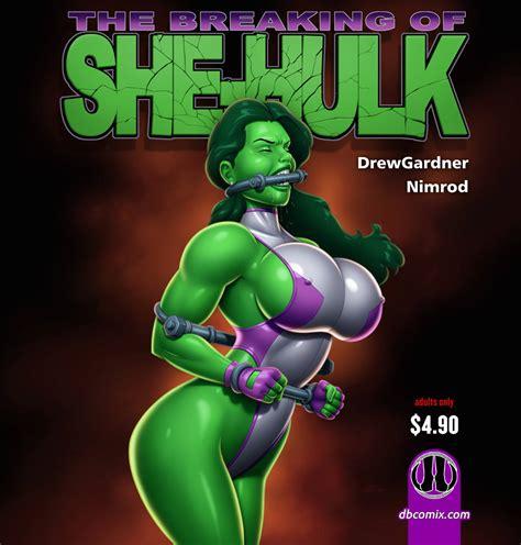 Breaking She Hulk By Lindadanvers Hentai Foundry