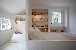 Chambre Fille Petit Espace : am nager une petite chambre d amis la maison design feria ~ Premium-room.com Idées de Décoration