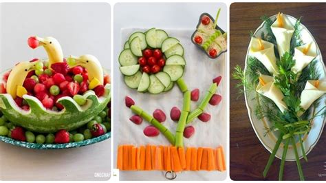 Salad Decoration /amazing Salad Decoration For Parties And