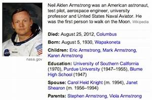 Information About Neil Armstrong - Pics about space