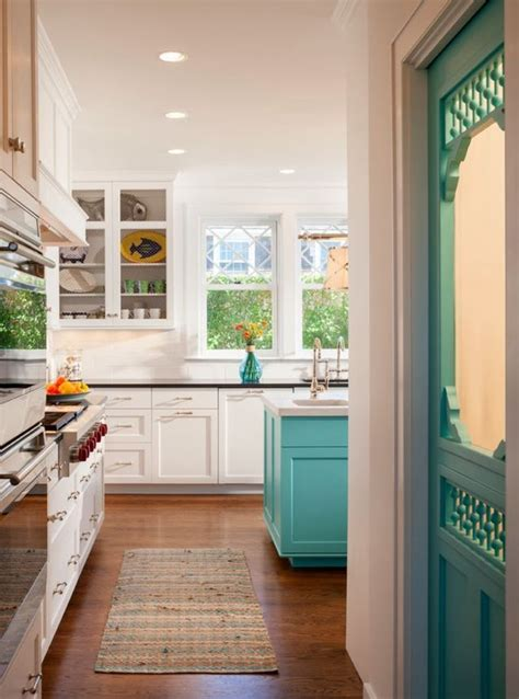 white and turquoise kitchen white turquoise kitchen for the home pinterest
