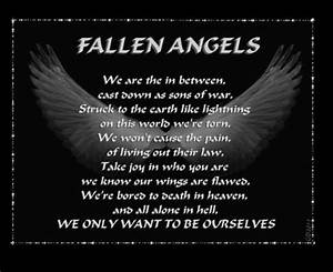 FALLEN ANGELS BIBLE QUOTES image quotes at relatably.com