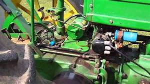 1939 John Deere B Pulling Tractor For Sale