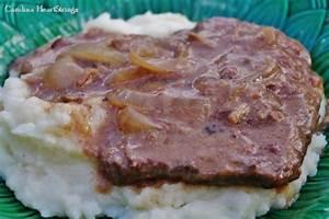 crock pot cube steak recipe by carolinaheartstrings