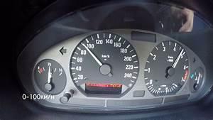Bmw E36 320i 0-100 Km  H Acceleration