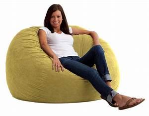 Bean Bag Chairs : comfort research 4 39 large fuf bean bag chair in sand dune comfort suede home furniture ~ Orissabook.com Haus und Dekorationen