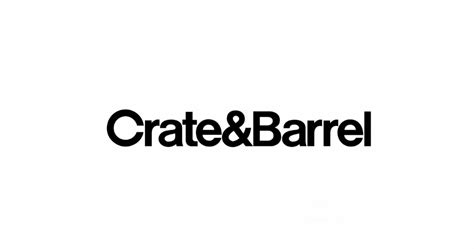 Helvetica Fans Rejoice in Crate & Barrel's New Logo