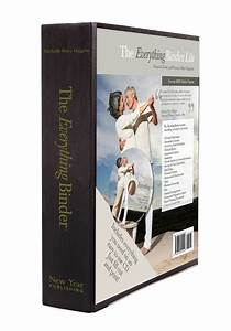 binder lite includes binder 17 tabs 5 clear sheets cd With estate planning document organizer