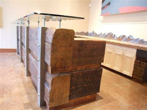 reclaimed wood reception desk 1000 images about reception desk designs on 4536