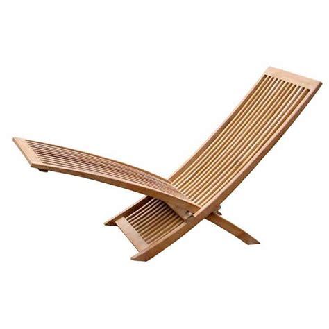 chaise longue teck chaise longue bois teck 150cm jin