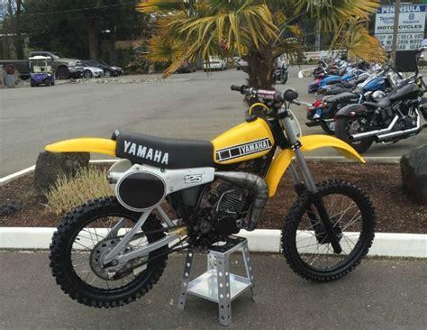 yamaha motocross bikes for sale 1980 yamaha yz 125 motorcycles for sale