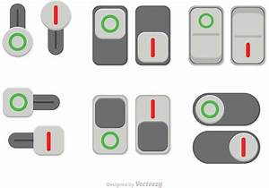 Switch On Off Button Vectors - Download Free Vector Art ...