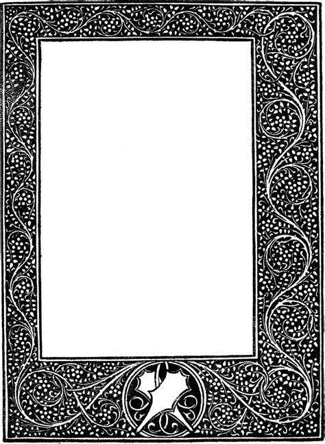 elegant borders   clip art