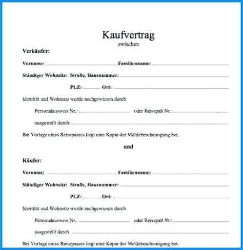 Kaufvertrag Haus Privat by 15 Kaufvertrag Privat Muster Exemple Cv Etudiant