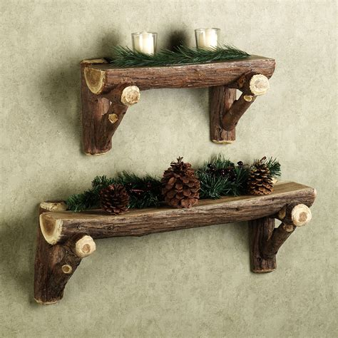 rustic wall shelf great exles of rustic wall furniture home