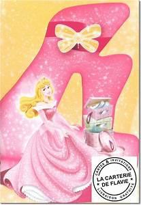 Carte Anniversaire Fille 9 Ans : carte 4 ans anniversaire disney princesse livraison gratuite ~ Melissatoandfro.com Idées de Décoration