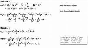 Ln Berechnen : stammfunktion bilden fl che berechnen integral bilden ~ Themetempest.com Abrechnung