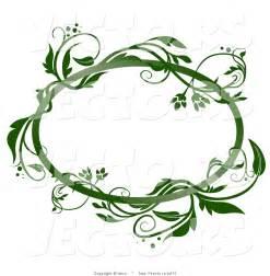 Oval Vine Frame Clip Art