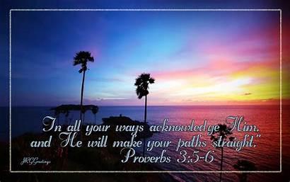 Christian Proverbs Wallpapers Bible Desktop Verse Backgrounds