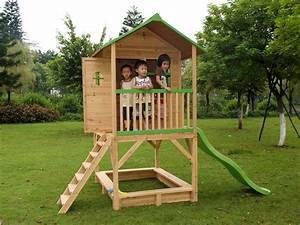 Cabane En Bois : cabane de jardin en bois sur pilotis fanny x ~ Premium-room.com Idées de Décoration