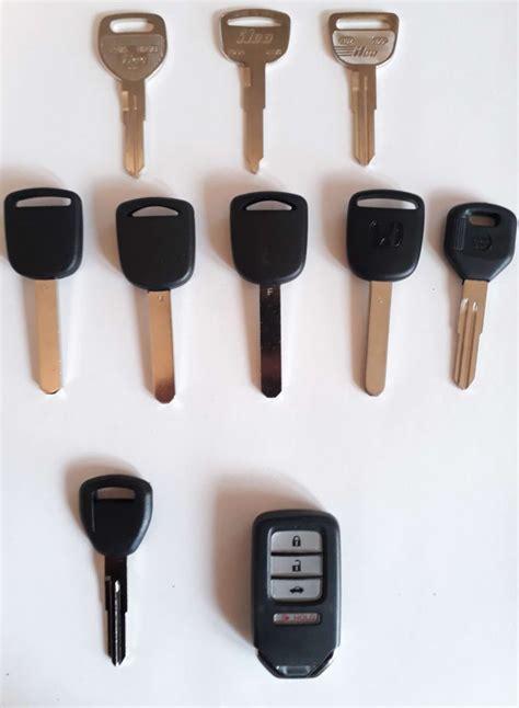 lost honda keys replacement  honda car keys