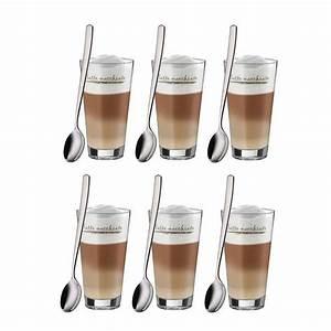 Latte Macchiato Gläser Wmf : wmf latte macchiato set 12tlg 6gl ser 6l ffel ~ Whattoseeinmadrid.com Haus und Dekorationen