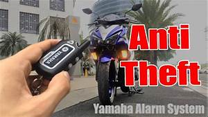Yamaha Aerox 155  2 Way Alarm System Installed  Functions