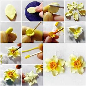tutorial clay art flowers - Google Search | Clay work ...
