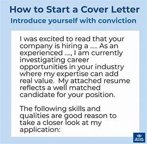 Sales Job Cover Letters Cover Letter Intro Best Examples Of How To Start A Cover