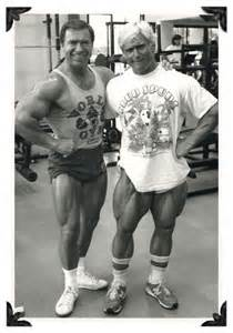 Tom Platz and Larry Scott