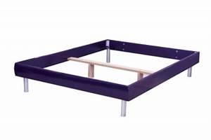 Cadre Lit 140x190 : taille 2 personnes lit cadre et structure de lit ~ Teatrodelosmanantiales.com Idées de Décoration