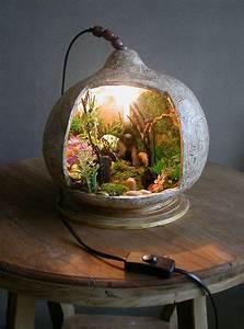 Bonsai Im Glas : terrarium lamp picmia creativity pinterest gourd lamp gourds and gourd art ~ Eleganceandgraceweddings.com Haus und Dekorationen