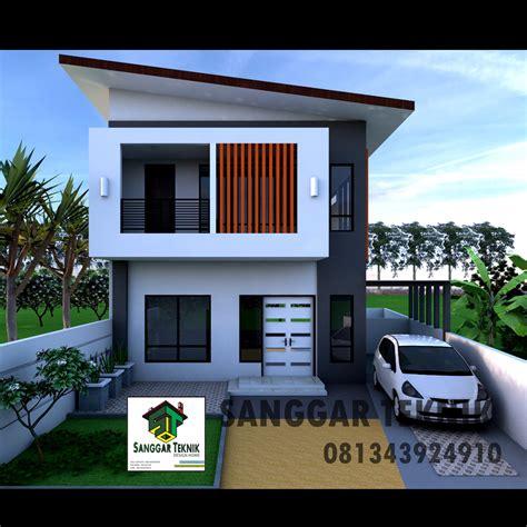 gambar desain rumah minimalis modern dwg file sanggar