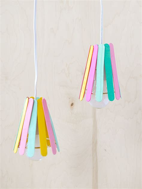 diy popsicle stick lamp handmade charlotte