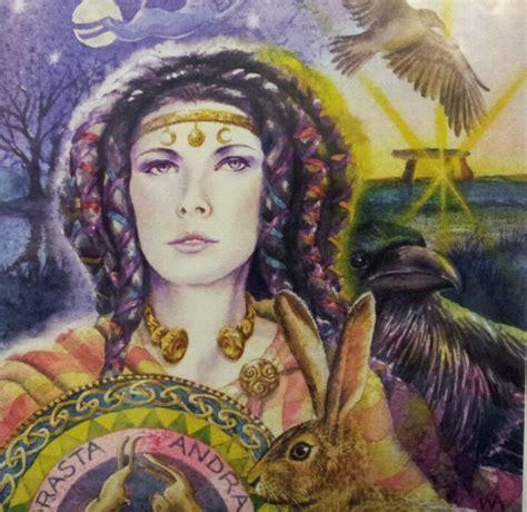 Andraste Celtic Goddess of War