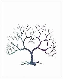 Family tree template family tree thumbprint template for Family tree thumbprint template