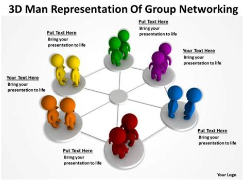 graphics ppt 3d icons representation powerpoint networking clipart templates network presentation cliparts slides recruitment teamwork clip presentations shapes slide library