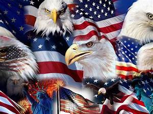 american symbols american flag statue of liberty bald
