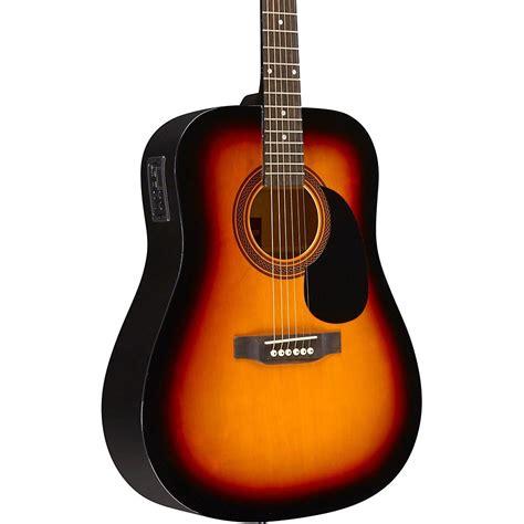acoustic ra dreadnought rogue guitar electric sunburst walmart