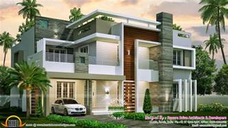 contemporary home plans 4 bedroom contemporary home design kerala home design and floor plans