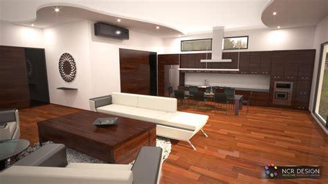 si鑒e design amenajare interior bucatarie si living open space proiectare fotorealistica 3d ncrdesign