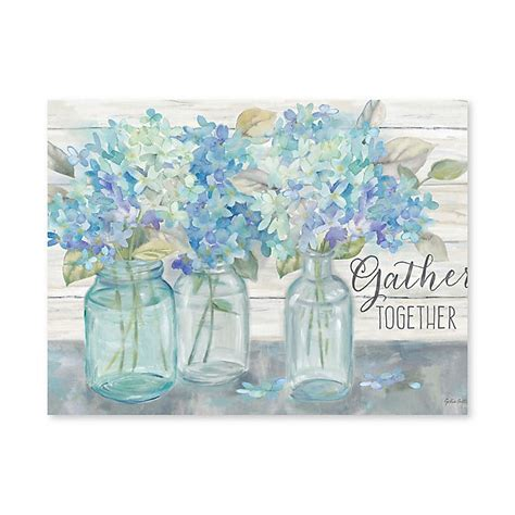 Download 322 hydrangea wall stock illustrations, vectors & clipart for free or amazingly low rates! Artissimo Designs Farmhouse Hydrangeas Printed Canvas Wall ...