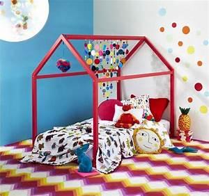 Lit Enfant Sol : diy lit cabane mod les originaux pour les enfants ~ Nature-et-papiers.com Idées de Décoration
