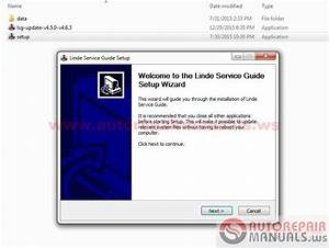 Free Auto Repair Manual   Linde Service Guide V4 6 3  12